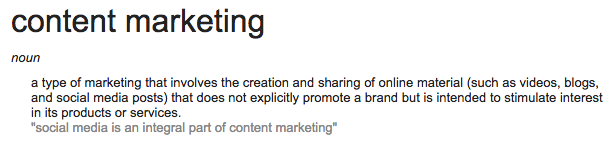 Five Percent - What is content marketing?